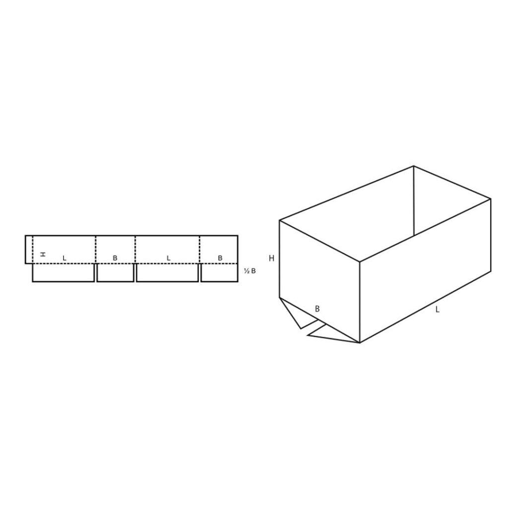 FEFCO 0200 Cardboard Box
