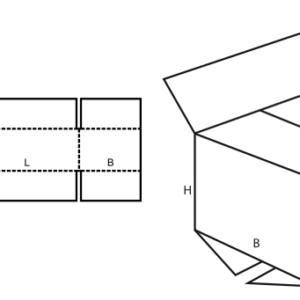 FEFCO 0201 Standard Cardboard Box