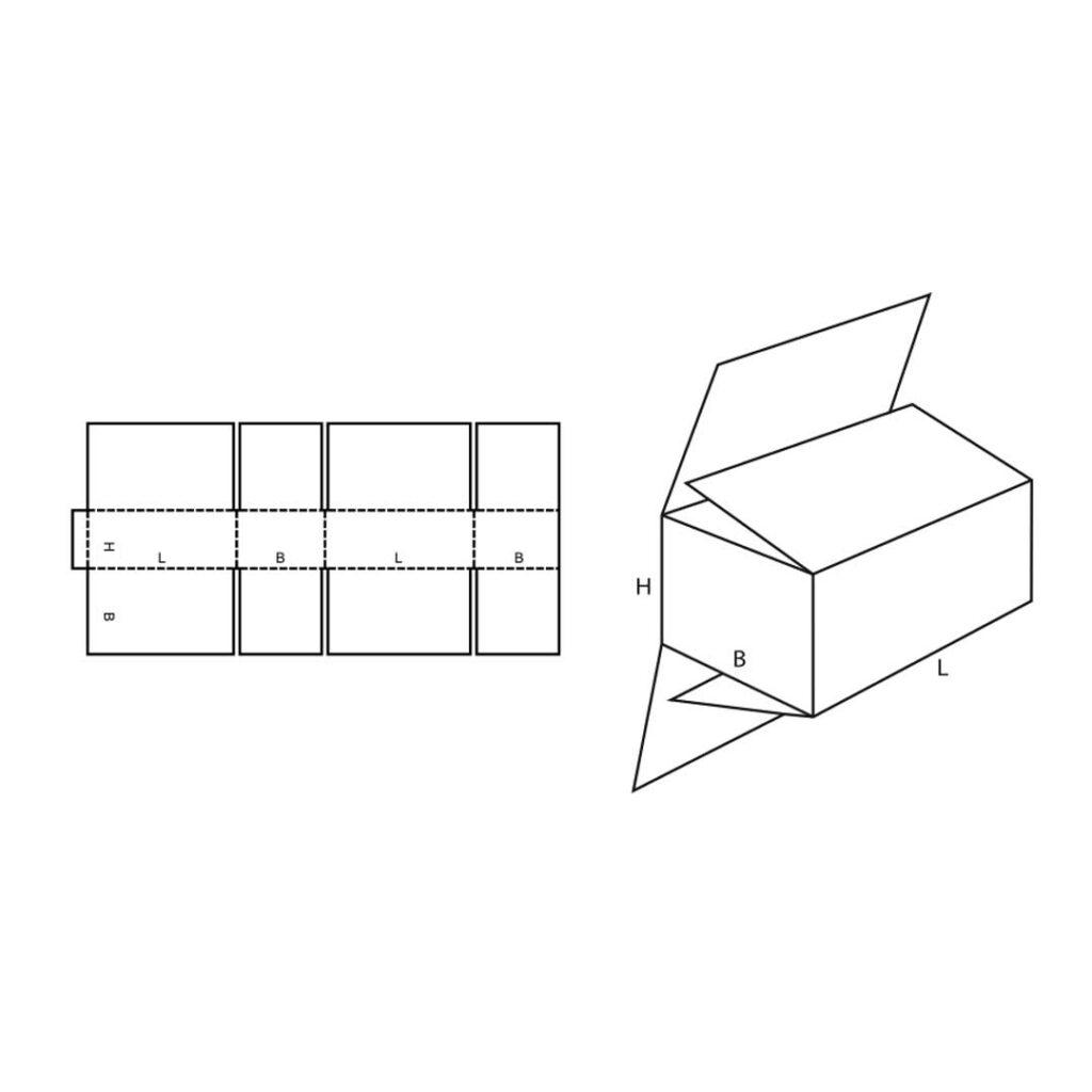 FEFCO 0203 Cardboard Box
