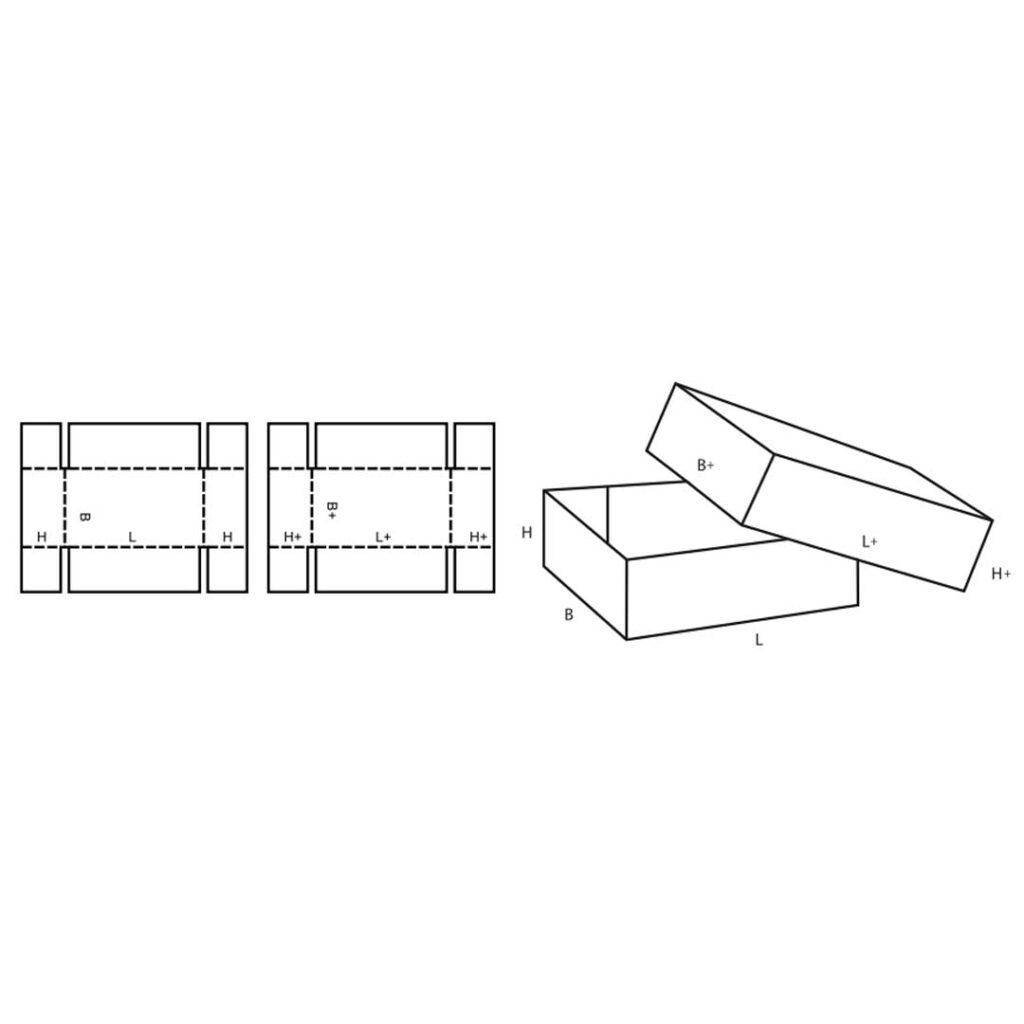 FEFCO 0300 Cardboard Box