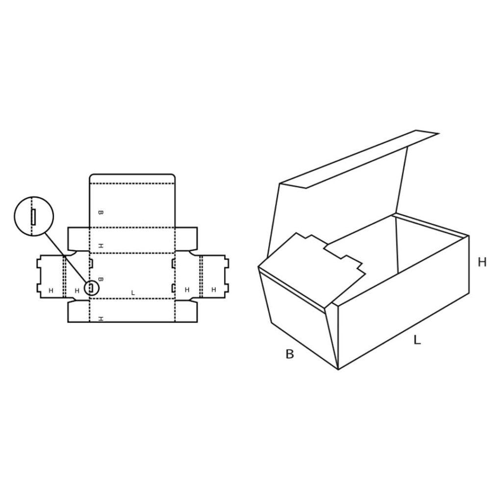 FEFCO 0421 Cardboard Box