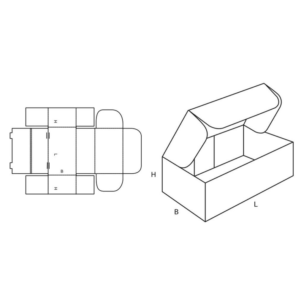 Fefco 0426 Cardboard Box