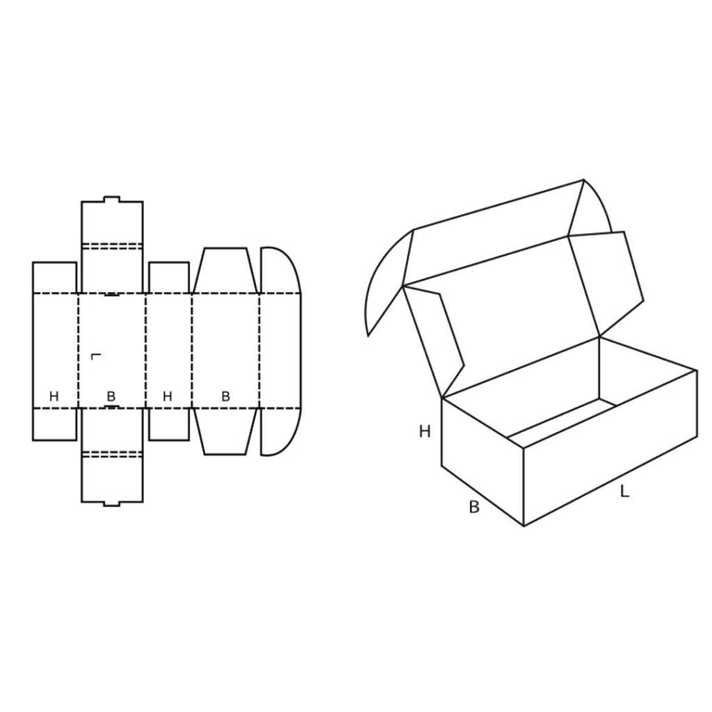 FEFCO 0427 Cardboard Box