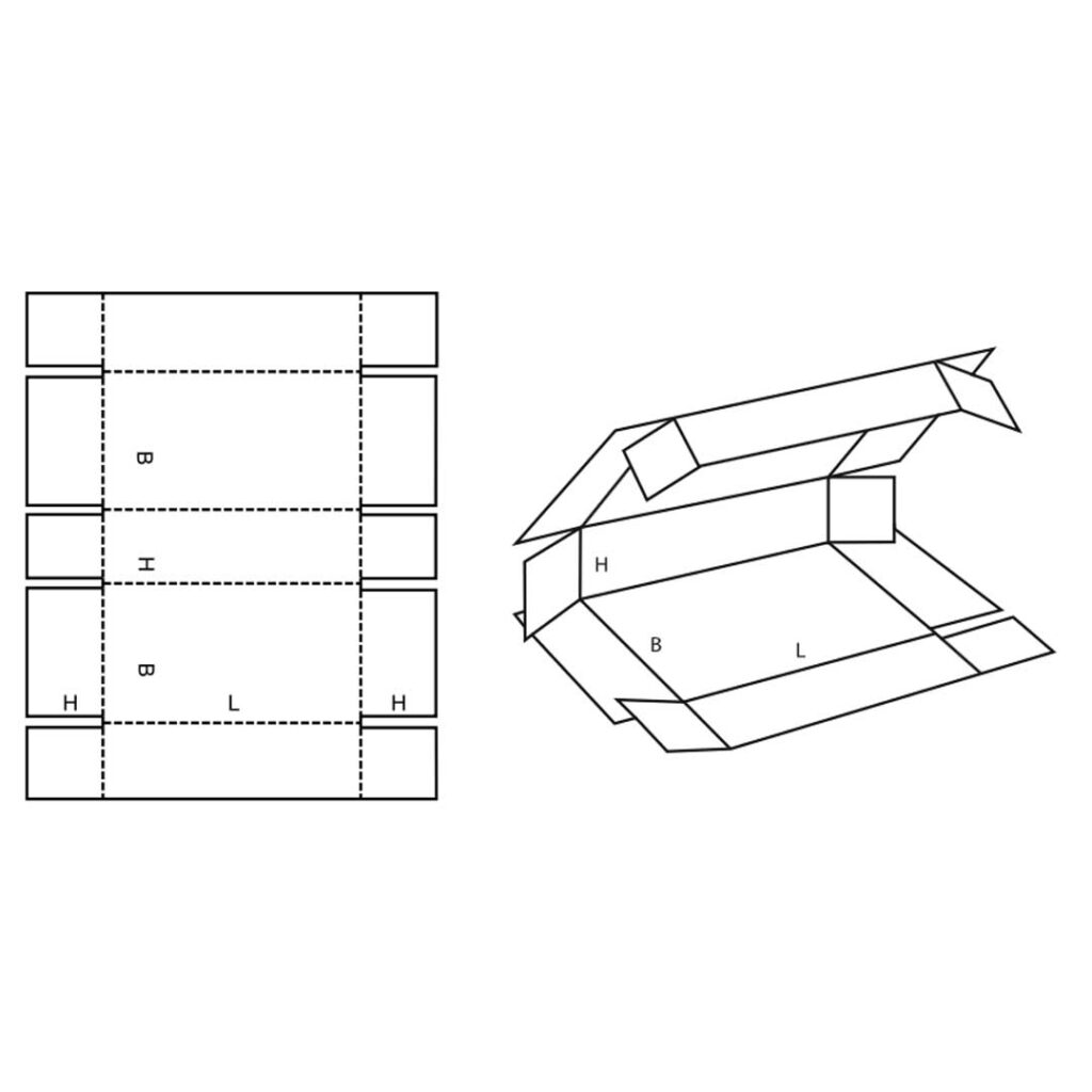 FEFCO 0409 Carboard Wrap